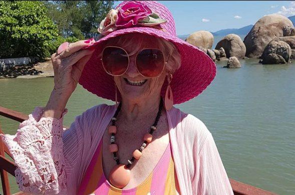 Izaura Demari. A celebridade 60+ que celebra a vida de verdade